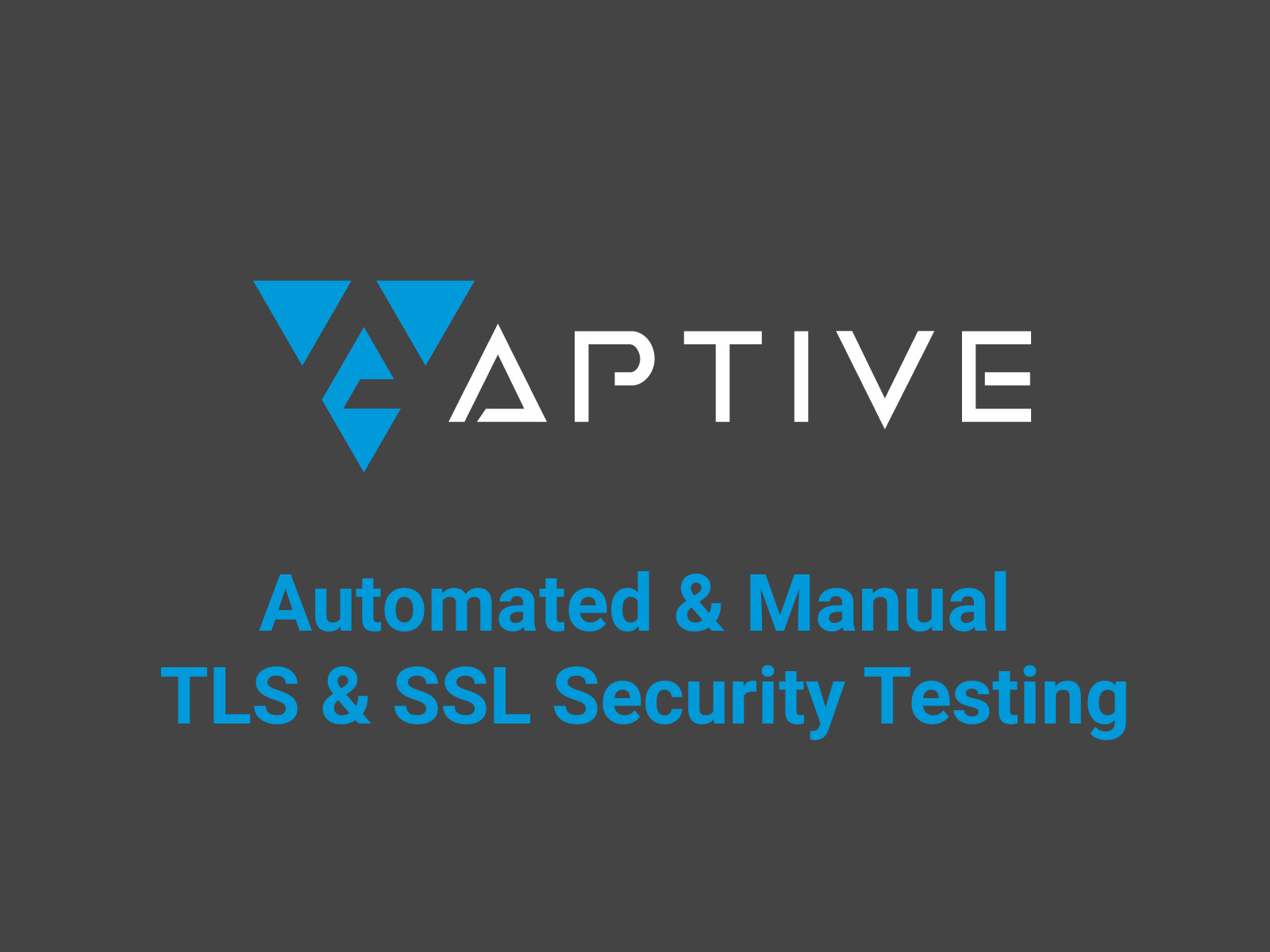 Ssl tls security testing definitive guide aptive 1betcityfo Gallery