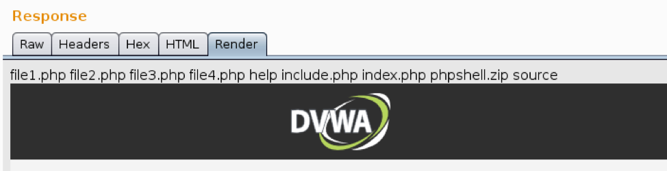 DVWA LFI Example